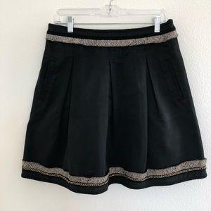 Pleated BCBG skirt